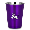 Ecococoon stainless steel cup - purple unicorn