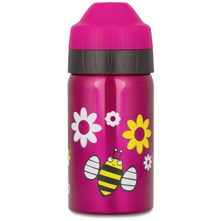 Ecococoon 350ml Spring Bees Stainless Steel Water Bottle