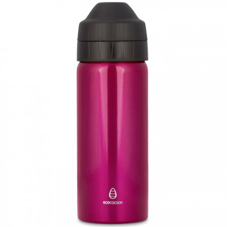 Ecococoon 500ml Tourmaline Pink stainless steel bottle