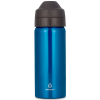 Ecococoon 500ml Topaz Blue stainless steel bottle