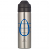 Ecococoon 600ml Blue Cocoon Monogram stainless steel bottle