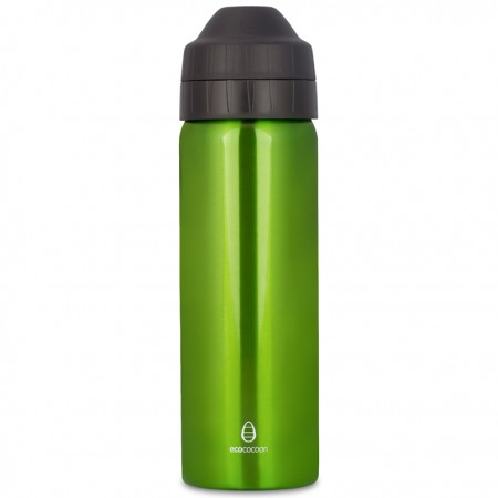 Ecococoon 600ml Spring Green Stainless Steel Water Bottle