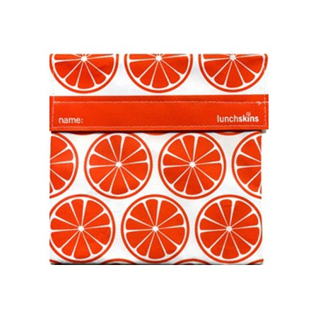 Sandwich bags - Lunchskins sandwich size (tangerine orange)