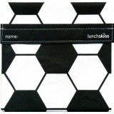 Buy Sandwich bags - Lunchskins sandwich size (black soccer)