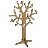 Jewellery tree - kauri wood (A4 large)