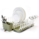 Full Circle smart dish rack - grass green