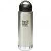 Klean Kanteen wide insulated stainless steel bottle (20oz) 591ml - brushed silver