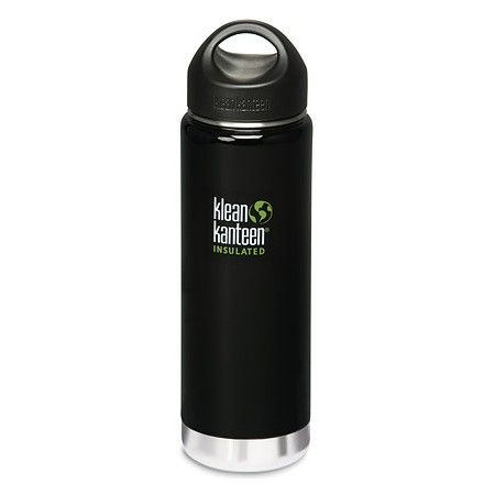 Klean Kanteen wide insulated ss bottle (20oz) 591ml - black eclipse