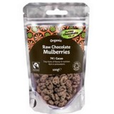 Buy Organic raw chocolate mulberries