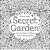 Secret Garden : An Inky Treasure Hunt & Colouring Book