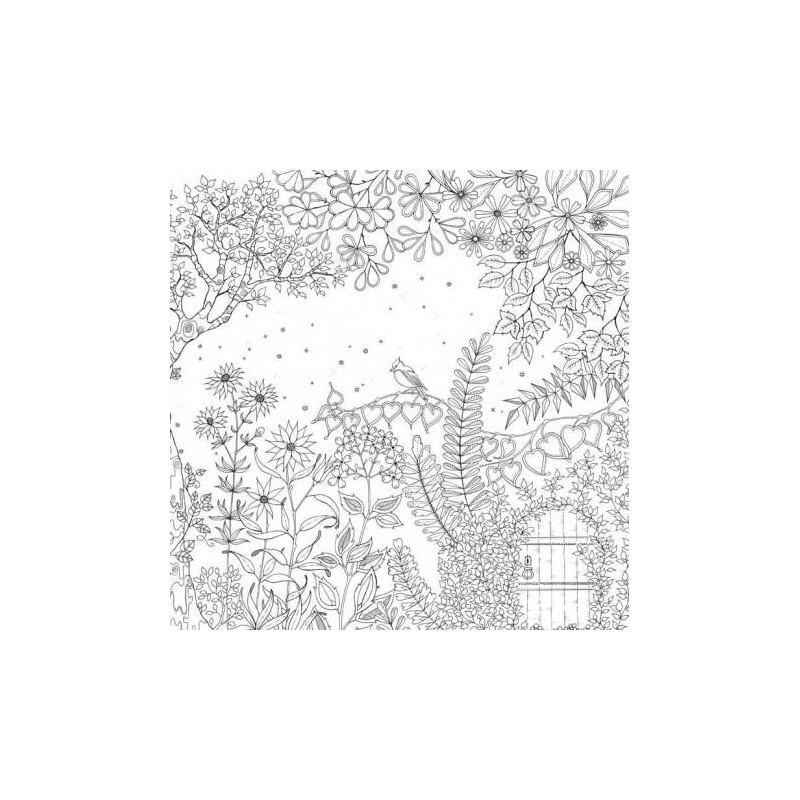 Secret Garden An Inky Treasure Hunt And Coloring Book By 821361