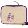 Insulated lunch box - purple cowgirl by SoYoung