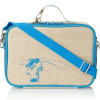 Insulated lunch box - turquoise cowboy by SoYoung