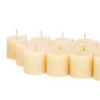 Queen B beeswax candles - REFILL jam jar 4hr tealight single (1)