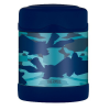 Thermos FUNtainer stainless steel insulated food jar - blue camo