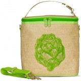 Buy Insulated large lunch bag - green artichoke by SoYoung