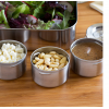 LunchBots Dips leak proof stainless steel containers (set of 3)