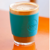 JOCO glass coffee cup - mint