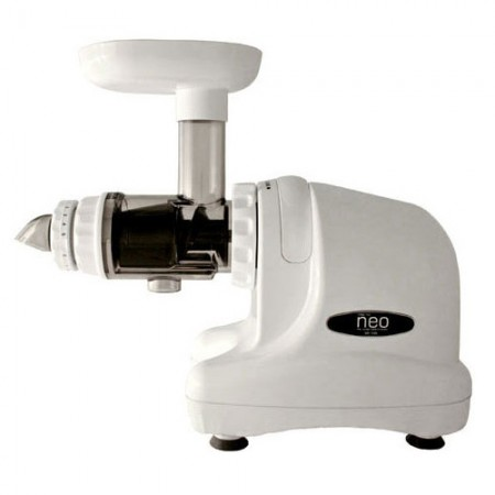 Oscar neo 1000 cold press juicer & food processor - white