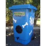 Worm habitat for dogs 140L with 1000 worms