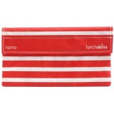 Sandwich bags - Lunchskins snack size (stripe red)