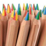 Lyra pencils giant: rainbow