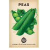 Heirloom seeds - peas pea snap sugar bon