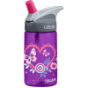 Camelbak 400ml kids Plastic Water Bottle eddy - hearts