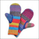 Buy Solmate recycled cotton mittens (whole hand)