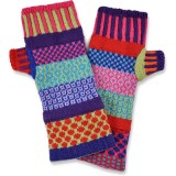Buy Solmate recycled cotton fingerless mittens