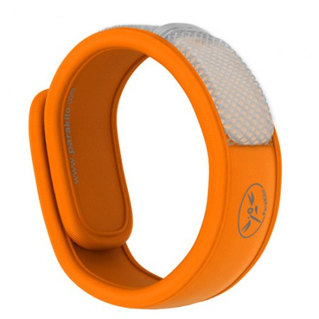 Para'Kito mosquito protection wristband - orange