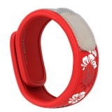 Buy Para'Kito mosquito protection wristband - hawaii red hibiscus