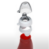Sili squeeze silicone food pouch 2oz (60ml) - red apple