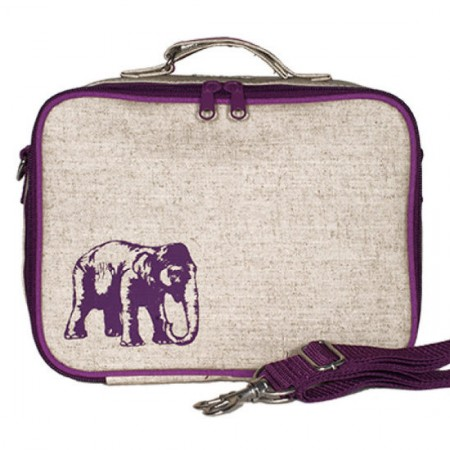 insulated lunch box purple elephant by soyoung australia buy online or brisbane store. Black Bedroom Furniture Sets. Home Design Ideas