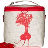 Buy Insulated large lunch bag - red beet by SoYoung