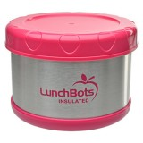 Buy LunchBots Thermal insulated food container - pink