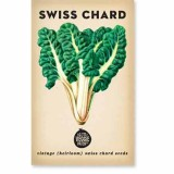 Heirloom seeds - swiss chard 'rainbow'
