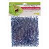 Kids Konserve sandwich wraps - blue squiggle (2 pack)