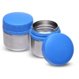 Buy LunchBots rounds food containers (2) - blue