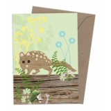 Buy Earth Greetings greeting card - spotted tail quoll