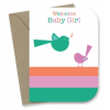 My Earth kids cards - baby girl wren