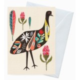 Buy Earth Greetings 'Inaluxe' card - australian emu