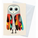 Buy Earth Greetings 'Inaluxe' card - hootenanny owl
