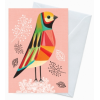 Earth Greetings 'Inaluxe' card - little finch