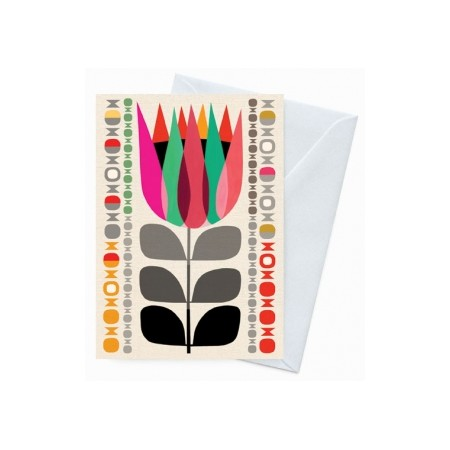 Earth Greetings 'Inaluxe' card - summer protea