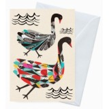 Buy Earth Greetings 'Inaluxe' card - the black swans