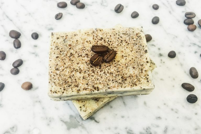 Peppermint Coffee Scrub Bar - Biome Naked Natural Beauty Bar