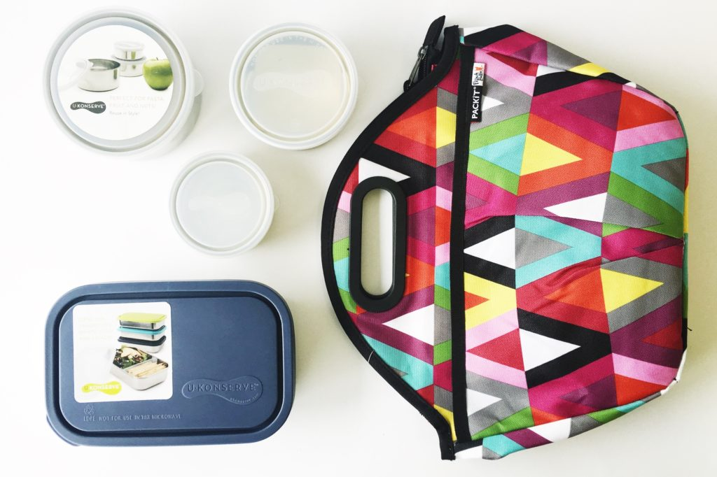 What Lunch Box Fits in What Insulated Lunch Bag - Kids Konserve and U-Konserve