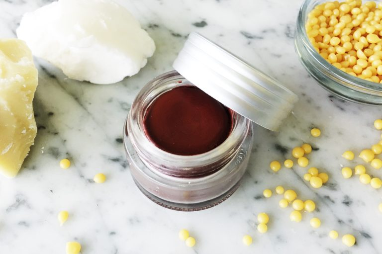 Cacao, Peppermint & Orange DIY Tinted Lip Balm