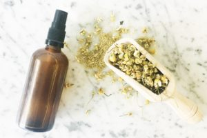 DIY Herbal Conditioning Spritz